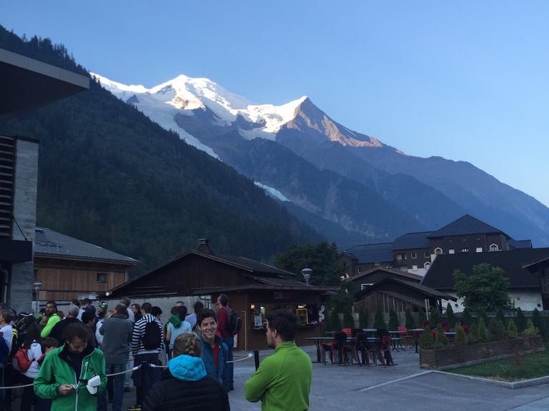Aiguille du Midi. 3842 m (Chamonix, Montblanc)