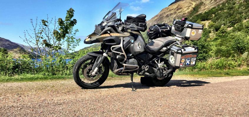 Escocia en moto. Oban – Isla de Skye