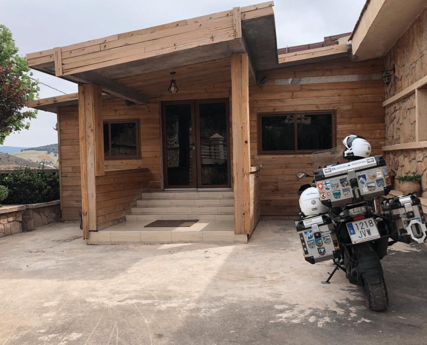 Marruecos en moto. Chefchauen - Ben Smim
