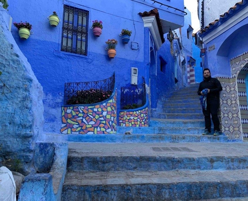 Marruecos en moto. Nador - Chefchauen