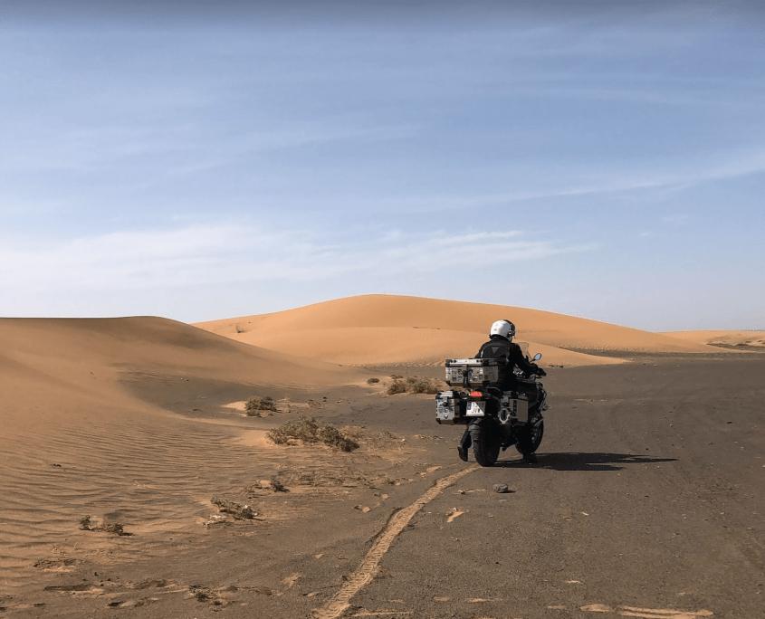 Marruecos en moto. Ben Smim - Erfoud